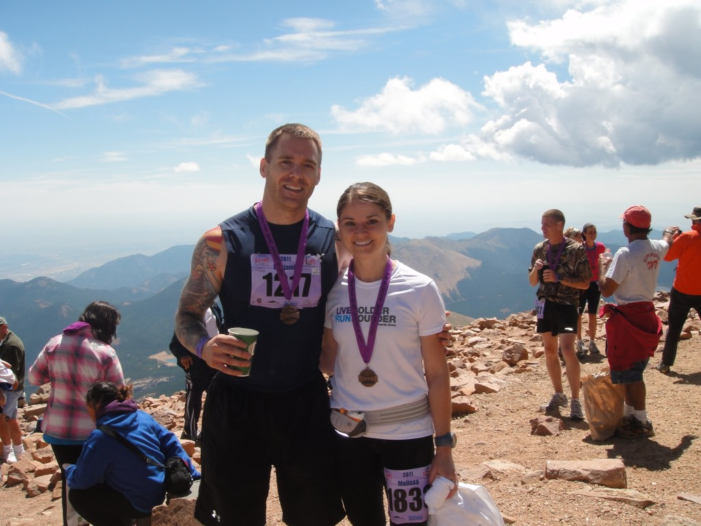 Just finished our first Pikes Peak Ascent!