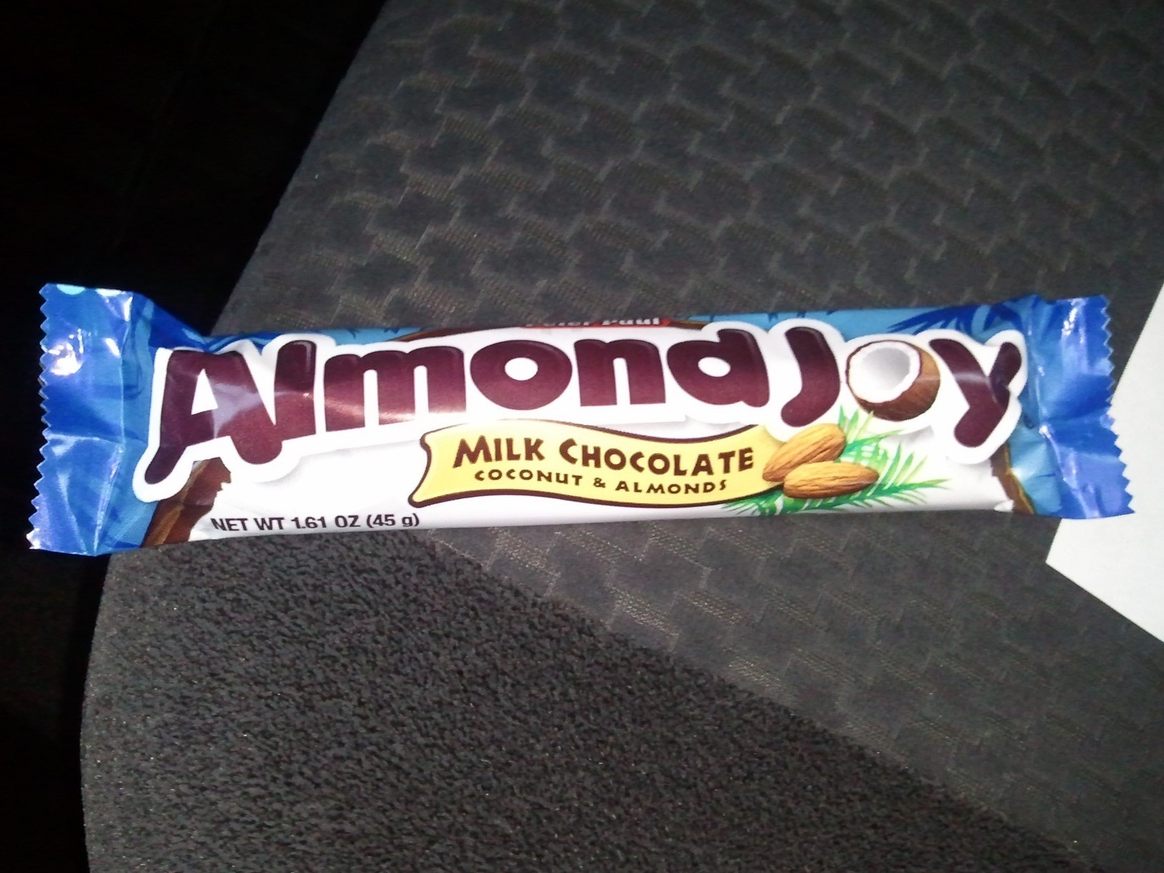 Coconut, almonds, and chocolate. Oh my!