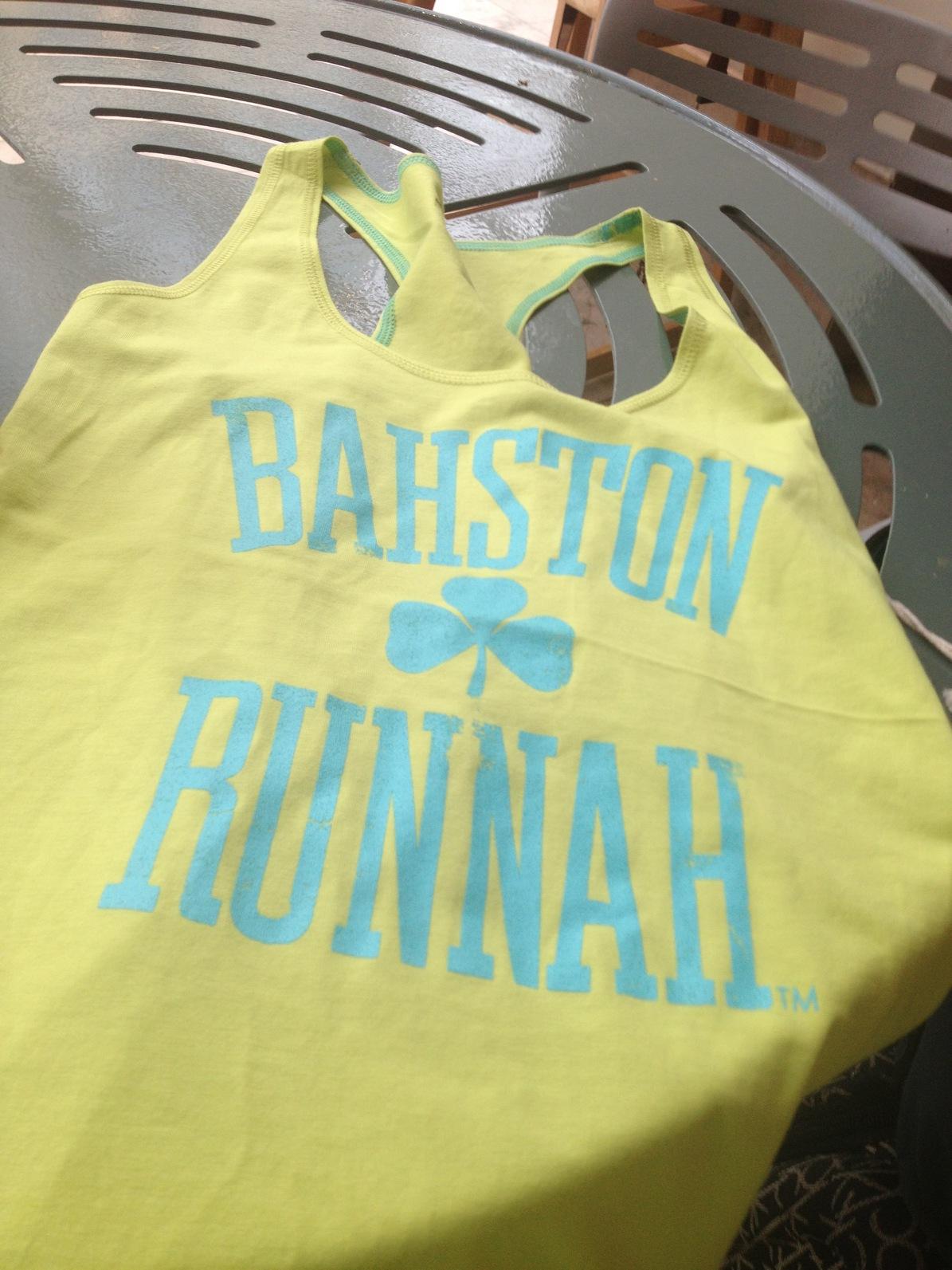 Boston Marathonite by association!